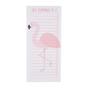 Pink Flamingo To-Do List Notepad by Sass & Belle